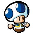 Mario vs Donkey Kong MLM-Blue Toad Art.png