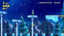 Luigi sighting in Cooligan Shrooms from New Super Luigi U