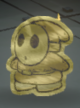 A Gold Shy Guy from Paper Mario: Color Splash.