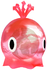 A red Swoopin' Stu from Super Mario Sunshine.