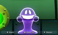 A Creeper getting ahold of Luigi from Luigi's Mansion: Dark Moon