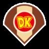 Donkey Kong's emblem from baseball from Mario Sports Superstars