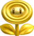 Gold Flower artwork for New Super Mario Bros. 2