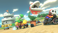SNES Donut Plains 3 from Mario Kart 8
