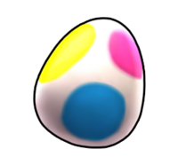 Egg of Mystery from Mario Kart Arcade GP DX