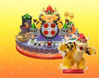 Bowser as an amiibo in Mario Party 10