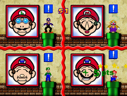 Picture Imperfect in the game Mario Party 3