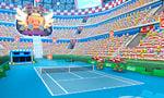 The Mario Stadium Hard Court in Mario Tennis Open