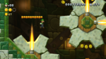 Flame-Gear Tower, the Tower level of Acorn Plains in New Super Luigi U