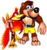 Banjo & Kazooie spirit from Super Smash Bros. Ultimate.
