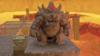 A Bowser Statue in Super Mario Odyssey