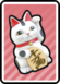 A Cat-o-Luck Card in Paper Mario: Color Splash.
