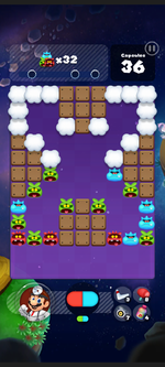 Stage 311 from Dr. Mario World