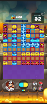 Stage 435 from Dr. Mario World