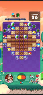 Stage 561 from Dr. Mario World