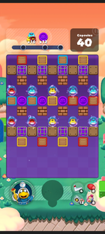 Stage 567 from Dr. Mario World