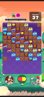 Stage 568 from Dr. Mario World
