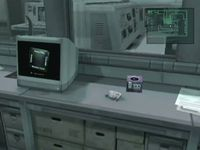 The Nintendo Gamecube in Metal Gear Solid: The Twin Snakes