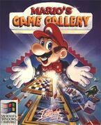 The box art to Mario's Game Gallery.
