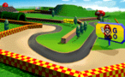 The icon for Mario Raceway, from Mario Kart 64.