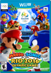 Boxart for Wii U Version of Mario & Sonic at the Rio 2016 Olympic Games