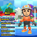 An Egg Pawn costume for Miis in the Wii version of Mario & Sonic at the London 2012 Olympic Games.