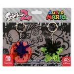 Splatoon 2 Splatfest key holder set packaging from the European My Nintendo Store