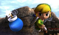 SSB4 3DS - Toon Link Bomb.png