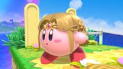 Kirby with Princess Zelda's copy ability