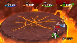 The Smash Skate game played at Fire Mountain.