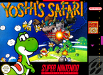 The American boxart for Yoshi's Safari.