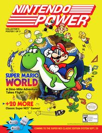 Tribute to Nintendo Power of Nintendo celebrating the release of the SNES Classic Edition