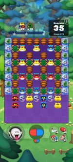 Stage 978 from Dr. Mario World