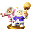 Ice Climbers trophy from Super Smash Bros. for Wii U