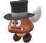 A Paragoomba in Super Mario Odyssey
