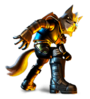 Sticker of Wolf from Super Smash Bros. Brawl.