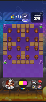 World 11's Special Stage from Dr. Mario World