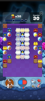 Stage 501 from Dr. Mario World
