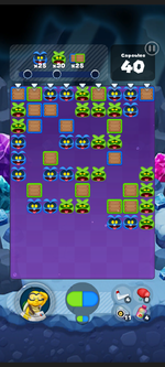 Stage 509 from Dr. Mario World