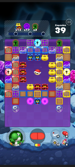 Stage 518 from Dr. Mario World