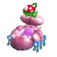 """Wario's ultimate <span style=""""color:red"""">machine</span>. Intimidating, like Wario's belly!"""