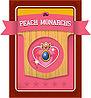 Level 3 Peach Monarchs card from the Mario Super Sluggers card game