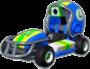 Luigi's Quarterback icon in Mario Kart Live: Home Circuit
