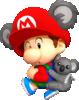 Baby Mario (Koala) from Mario Kart Tour