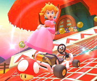 The icon of the Birdo Cup challenge from the Rosalina Tour in Mario Kart Tour