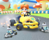 The icon of the Diddy Kong Cup challenge from the Ninja Tour in Mario Kart Tour