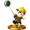Ness trophy from Super Smash Bros. for Wii U