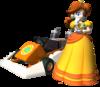 Mario Kart DS artwork: Princess Daisy
