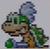 Larry Koopa icon in Super Mario Maker 2 (Super Mario World style)