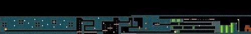 Layout of Captain Toad: Treasure Tracker in Super Mario Maker.